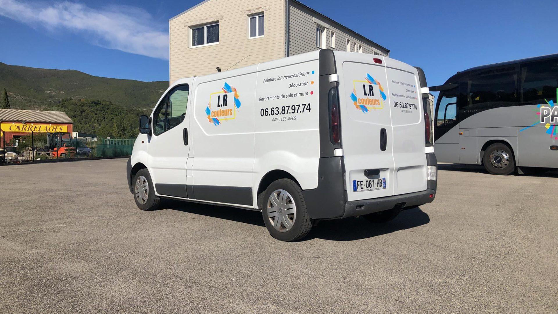 Renault Trafic LR Peinture Agence 2219