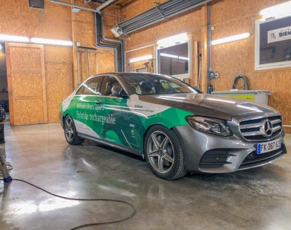 Mercedes Classe E hybride-4